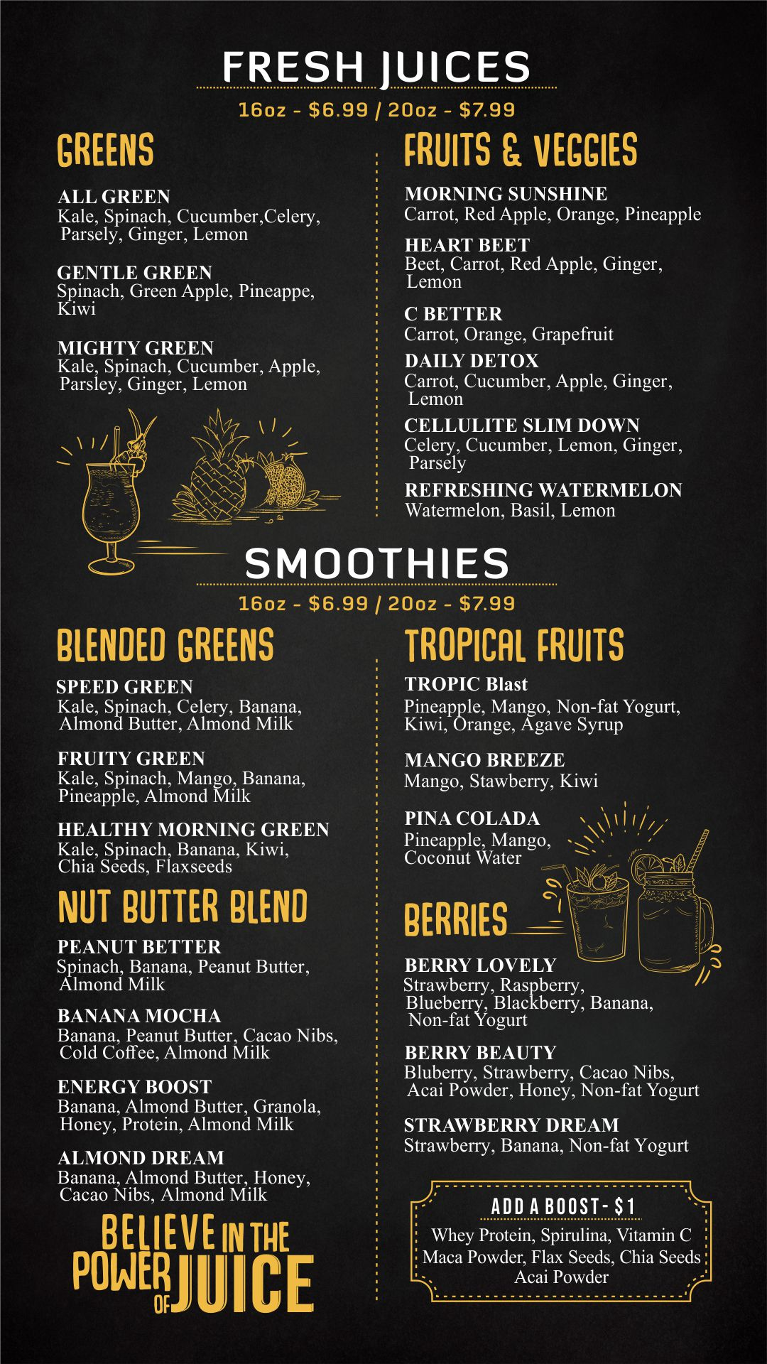 Fresh Juice and Smoothies Menu-min by GoDesign.pk