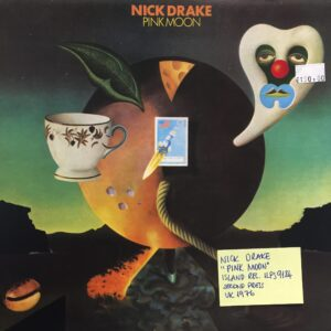 Album cover by Nick Drake, surrealism art