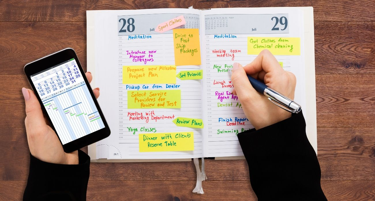 How to equipoise your priorities by planning an ideal week