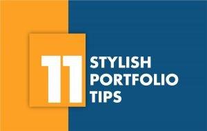 11 Stylish Portfolio Tips