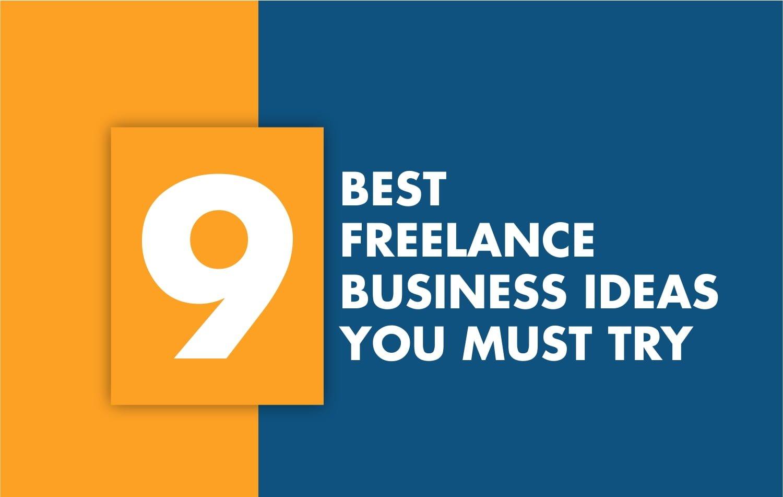 9 best freelance ideas