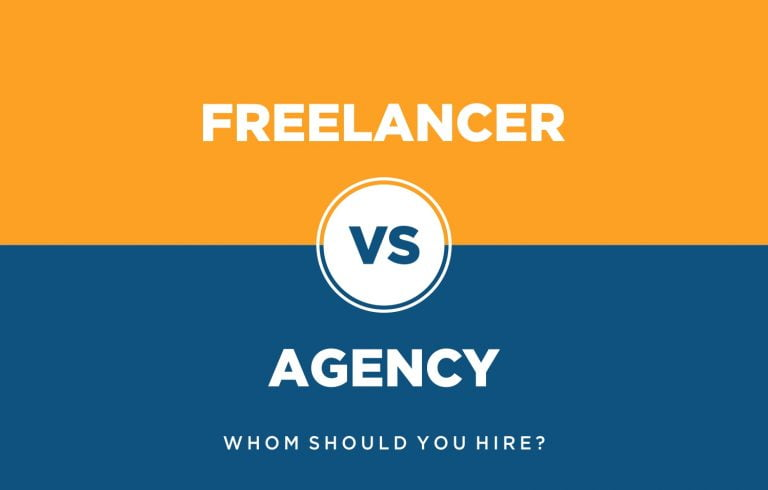 Freelancer vs Agency   Which one is the best option?