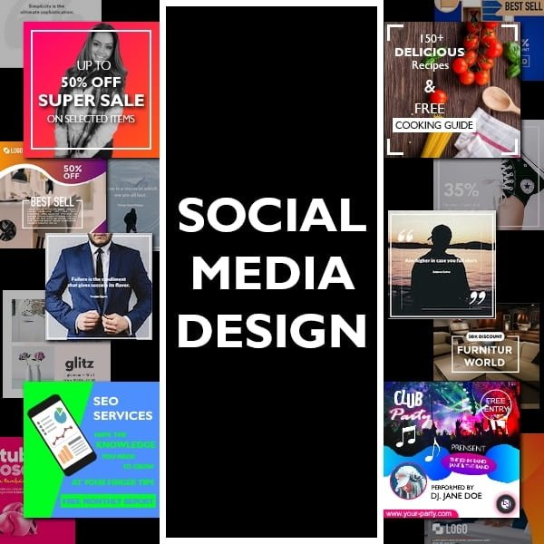Social media design guidelines and useful benefits.