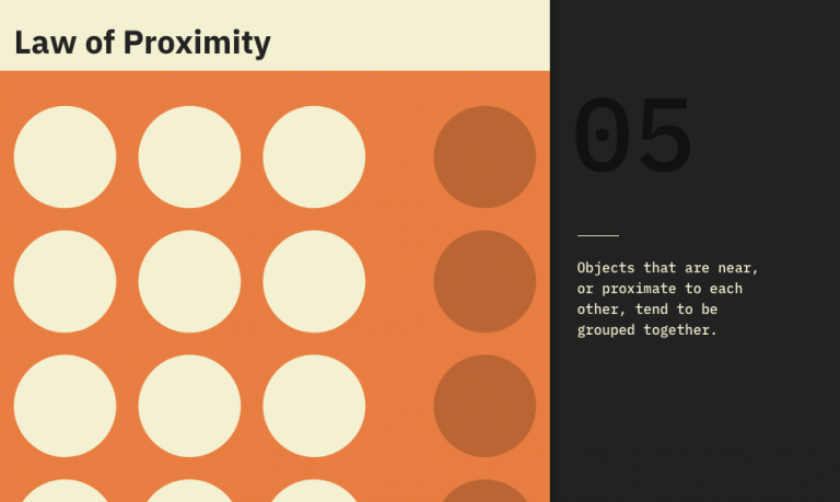 Amazing UX Designing Guide 2021: How To Apply Law Of Proximity Perfectly