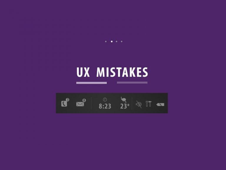 7 Big UI Designing Mistakes Designers Make